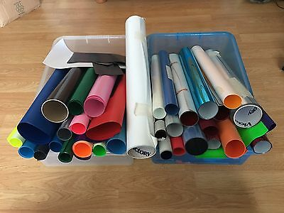 Collection of T-Shirt Vinyl Various Colours - Cutter Print Business
