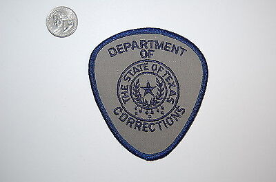 Texas Dept of Corrections Patch