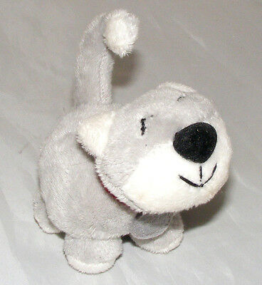 Grey Kitten with a Contented Smile - Soft Toy