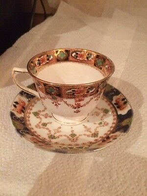 Royal Stafford Tea Cup And Saucer Crack In Tea Cup