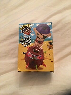 Mini Pop-up Pirate Game Never Opened