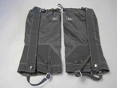 REI Gaiters Marked S/M Beautiful Condition Great Snow Protection Hiking Sports