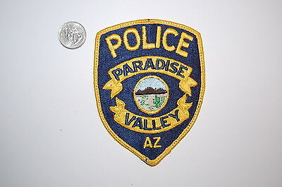 Paradise Valley Arizona Police Patch