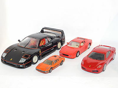 Collection of Ferrari Cars Burago / Maisto / Matchbox for Restoration or Spares