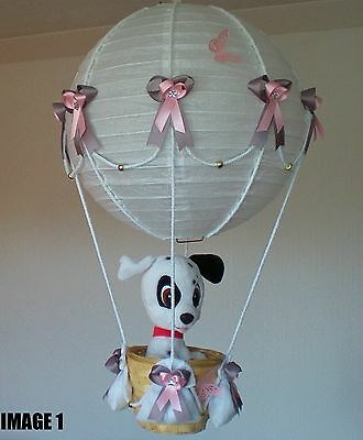 DALMATION in hot Air Balloon Lamp-light Shade for Baby Nursery