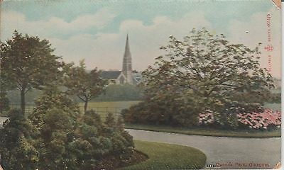 Early Postcard - Glasgow -Queens Park - -Real Photo