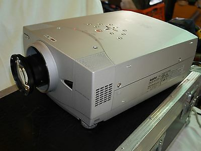 SANYO PLC-XP57L LCD Projector, 5,500 ANSI lumens, with flight case & two lens