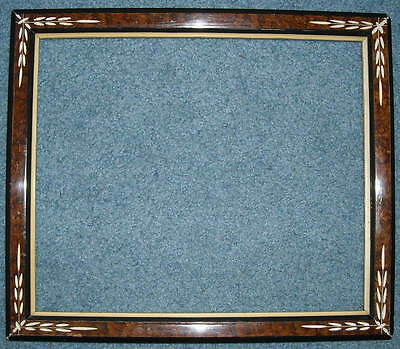 "antique AMERICAN VICTORIAN EASTLAKE CARVED PICTURE FRAME 10x12"" ORIGINAL GLASS"