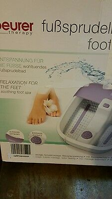 Beurer Therapy FB12 foot spa foot massage