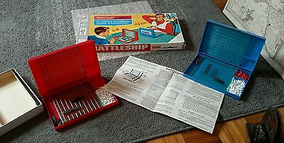 Vintage Battleship From 1967 In Original Box And Complete