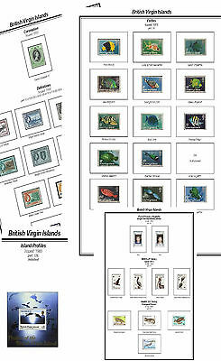 Print a Brit Virgin Island Album Fully Annotated & Completely Colour Illustrated