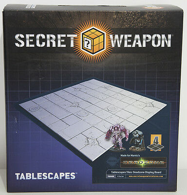 Tablescapes Tiles Deadzone - Display Board - Armies on Parade - Realm of Battle