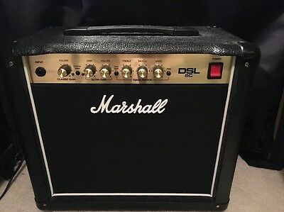 Marshall DSL5C: 5W 2 Channel 1 x 10 Combo Like New