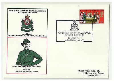 Baden Powell ( Boer War and Scouts ) Intelligence Corps - Special Event Postmark