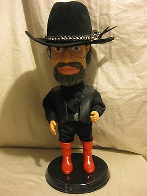 """Hank Williams Jr. Collectors Edition Animated Singing And Dancing 20"""" Figure"""