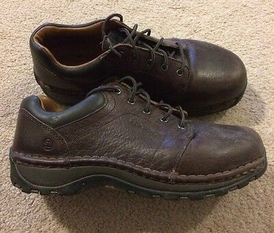 Red Wing Work Boots Shoes 2324 Womens Oxford Aluminum Toe Saddle Leather Sz 6 E2