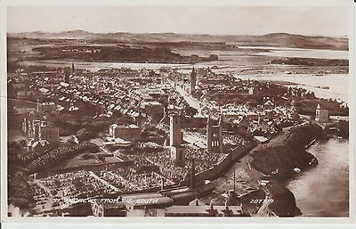 Early Postcard -St Andrews - From The South - Fife  -Real Photo