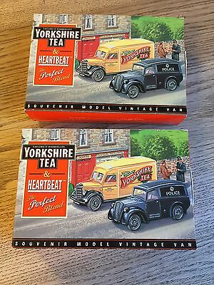 Yorkshire Tea And Heartbeat Vehicles