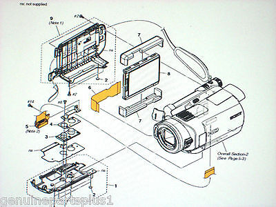 Genuine  Parts For  Sony Hdr-Sr7