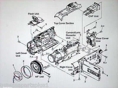 GENUINE  PARTS FOR CANON OPTURA XI MVX3i from $5-$65