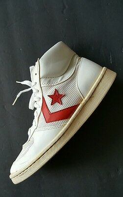 Vintage Converse Dr J Basketball Shoes. Size US 11 Men's. Made in USA.