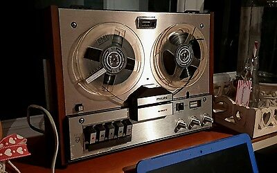 vintage Philips 4307 4track reel to reel in good condition working hifi