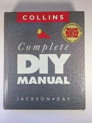 Collins The Complete Diy Manual, Day, Jackson, Excellent Book