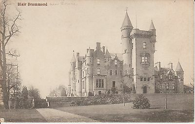 Early Postcard - Blair Drummond - Stirlingshire  -Real Photo