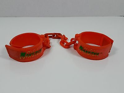 vintage genuine handcuffs for My Pet Monster 1985 Amtoy American Greetings VNC