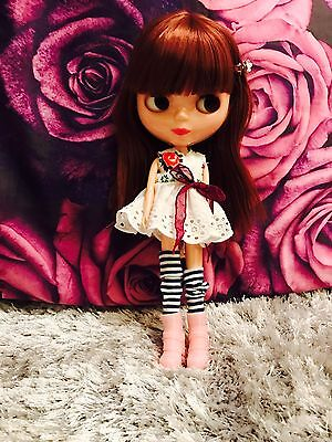 �� Blythe-Basaak Doll And Outfit U.K. Seller