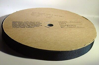 """72yd Roll Navy 3/4"""" Nylon Tape Binding or Anchor Loops to Attach Hardware."""