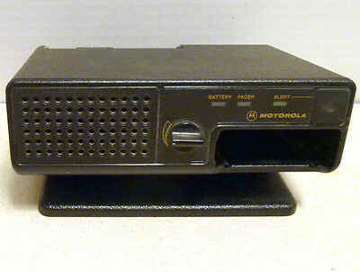 Desktop Amplified Alert Monitor Base Station #NYN8348A Minitor III Pager No AC