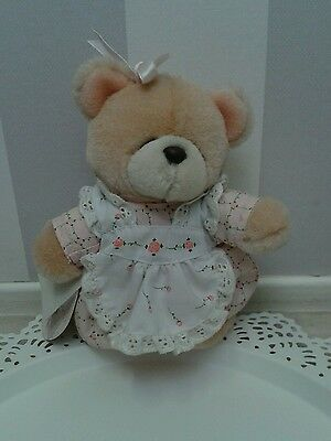 Andrew brownsword forever freinds standing plush bear 1989 No. 130