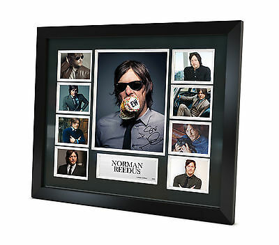 Norman Reedus - Signed Photo - Memorabilia - Limited Edition - Framed