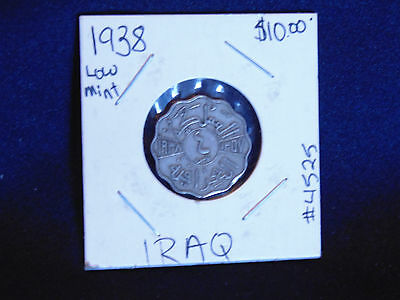 1938 Low Mint Stunning Coin from Iraq