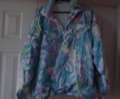 Vintage shell suit top size large - womens