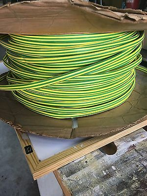 Heat Shrink Tubing Earth Colouring 12 mm 45 Meter Roll