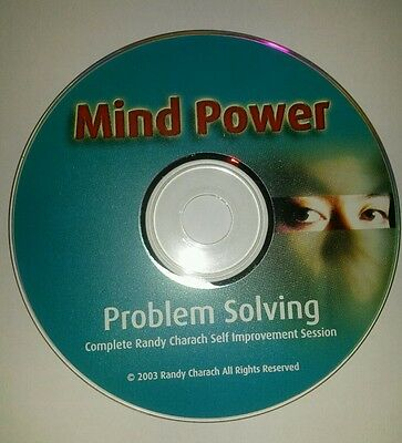 Problem Solving Mind Power Hypnosis Randy Charach