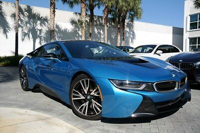 2015 BMW i8 Coupe 2-Door 2015 BMW i8 PURE IMPULSE WORLD $148,250 msrp 1 owner clean carfax florida car