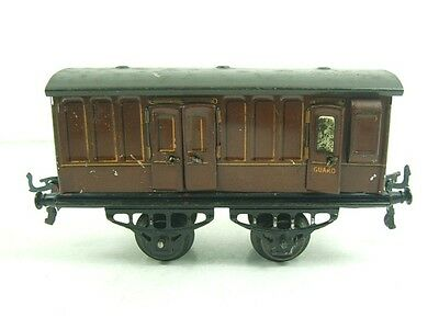 Hornby O Gauge LNER No1 Guards Van Coach Early Edition Vintage Tinplate