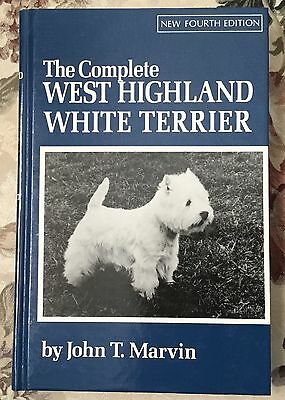 The Complete West Highland White Terrier dog book John Marvin 1977
