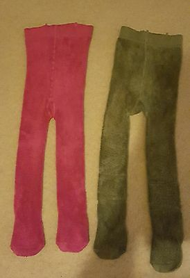 Warm winterr frotte tights 12 to 24 months