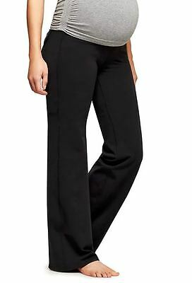 Athleta NWT $79 Maternity Fusion Pant in Black size Small S