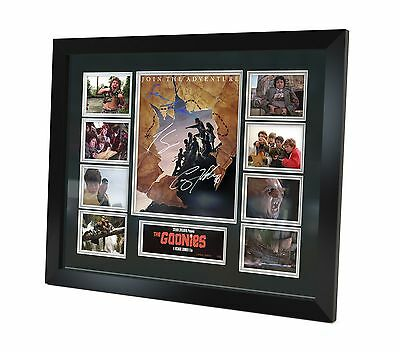 The Goonies Signed Photo Movie Memorabilia Limited Edition of 250 Framed
