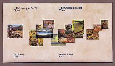 Canada — 3 Souvenir sheets in Cover — Canada Day, Group of Seven #1559-61 — MNH