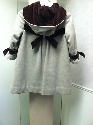 GIVENCHY Paris for Solitaire Child's Wool Coat - CHILD'S SIZE 6