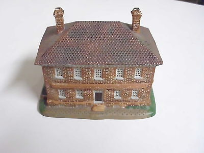 Williamsburg Lang And Wise Town Hall Collectibles George Wythe House