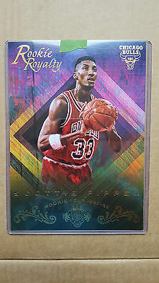 Scottie Pippen 2016-17 Court Kings Rookie Royalty 5X7 'box topper' Chicago Bulls