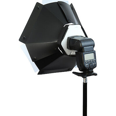 PhotxPro Camera Flash Circular Beauty Dish Diffuser 46cm