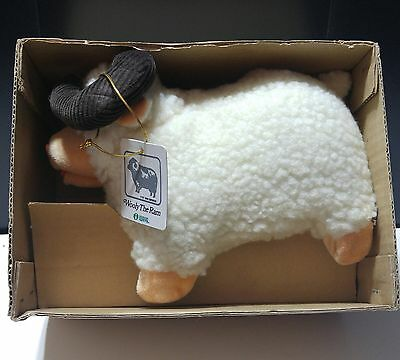 Vintage 1987 Iwaya Toys Wooly the Ram Battery Operated Toy NOS NWT